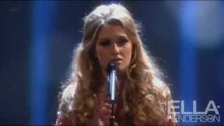 "Элла Хендерсон, Ella Henderson performs ""Believe"" at the National Television Awards 2013 (23rd January)"