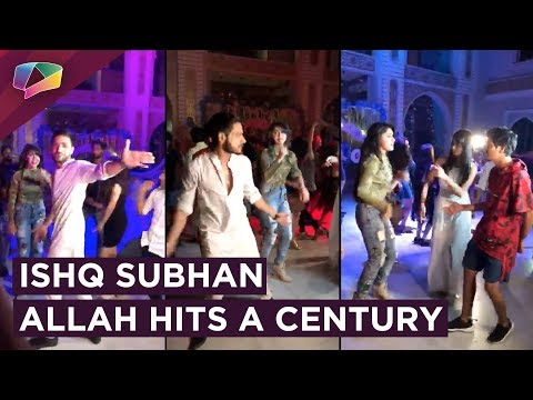 Adnan Khan And Eisha Singh Dance At Ishq Subhan Al