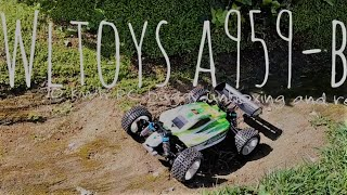 (UNBOXING AND REVIEW) Wltoys A959b 70 km/h 4wd buggy