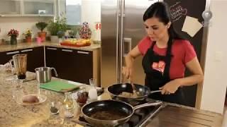 Tu cocina - Pollo en salsa de ciruela y puré de camote