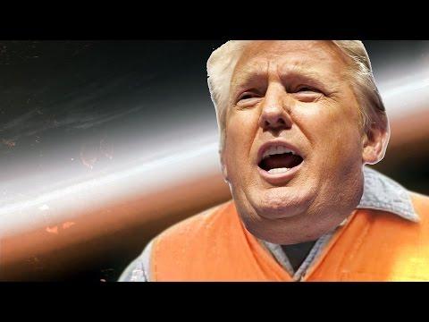 Трамп - Котлетки с пюрешкой