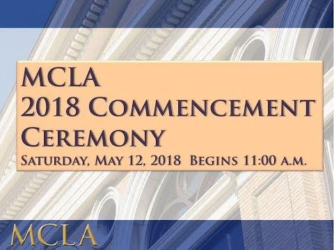 MCLA 2018 Commencement Ceremony