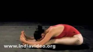 Paschimottanasana (The forward bend - sitting)
