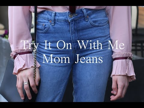 Try It On With Me | Mom Jeans