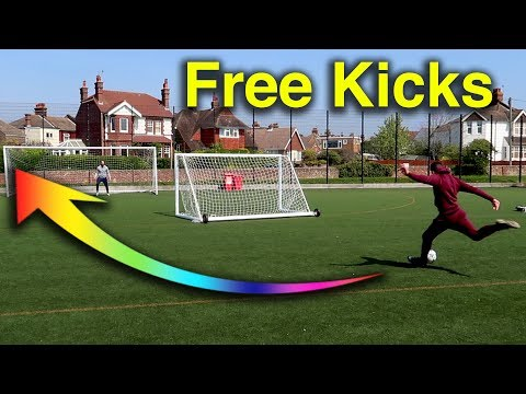 HOW TO TAKE THE BEST FREE KICKS!!!
