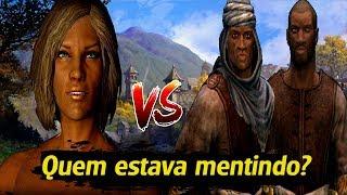 A Resposta Do Maior Mistério De Skyrim - Qual A Escolha Certa? A Mulher Redguard Ou Os Mercenários?