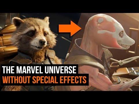 Как выглядит вселенная Marvel без спецэффектов
