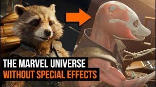 VIDEO: The Marvel Universe Without Special Effects