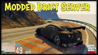 (GTA 5) FiveM - Drifting a Nissan GTR!
