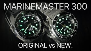 Seiko Marinemaster 300 - Original Vs New!