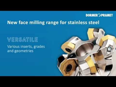 Economical Face Milling Of Stainless Steel