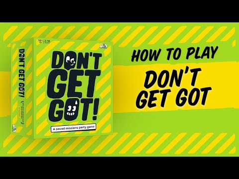 Youtube Video for Don't Get Got - Secret Missions Game