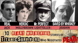 10 Heart Wrenching Titanic Survivors Stories