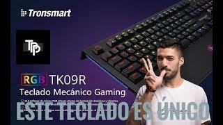 Este teclado mecánico es Único - Tronsmart TK09R