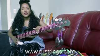 "Beyonce's ""Bassist"" Lauren Taniel on DR Strings"