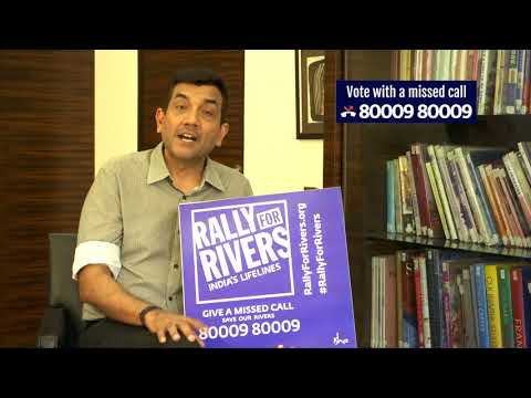 Sanjeev Kapoor for Rally for Rivers