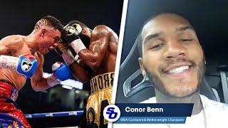 CONOR BENN: 'Adrian Granados is A STEP UP; I think HE BEAT ADRIEN BRONER'