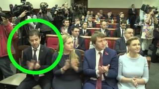 Мужик впал в экстаз от речи Кличко на присяге...