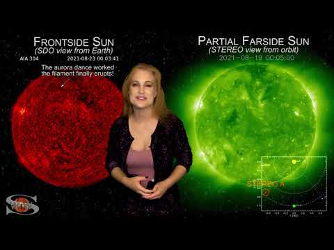 Solar Storm Forecast – August 23, 2021 at 09:32PM