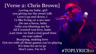 Jeremih – I Think Of You ft  Chris Brown  Big Sean Lyrics  Download MP3