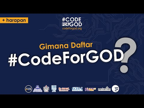 Gimana Daftar #CodeForGOD?