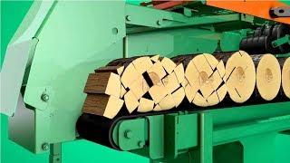 Amazing Modern Firewood Processing Machine Technology, Extreme Fast Wood Processor | Kholo.pk