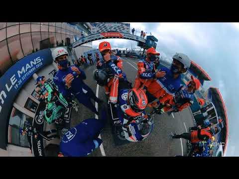 【動画】FIM EWC第3戦ル・マン24時間 360度視点から見たルマン24時間
