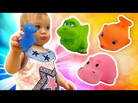 Tolle Spielsachen. Die Spielzeugkiste. Video für Kinder.