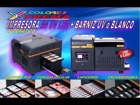 impresora uv A4