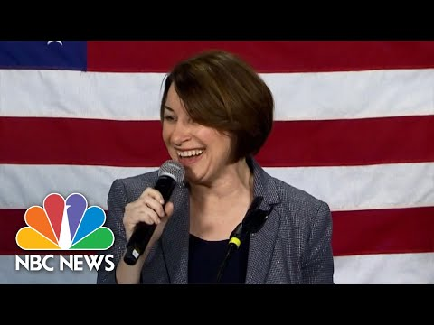 Watch Amy Klobuchar's Full Speech After Nevada Caucus Defeat | NBC Nightly News