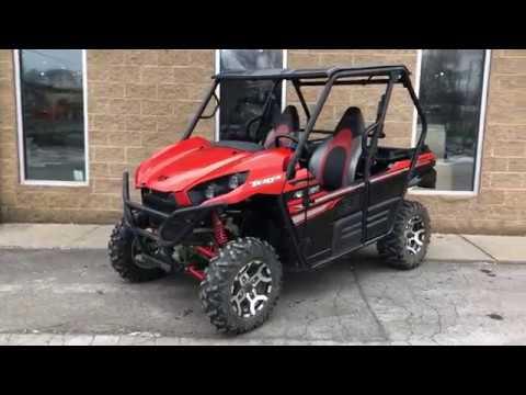 2017 Kawasaki Teryx LE in Chicora, Pennsylvania