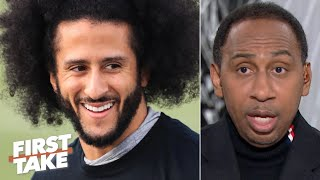 Colin Kaepernick's workout showed getting an NFL job isn't his priority - Stephen A. | First Take