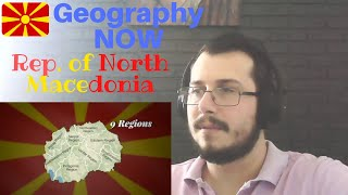 Italian Guy Reacting To Geography Now! Rep. Of North Macedonia FORMER JUGOSLAVIA COUNTRY REACTION