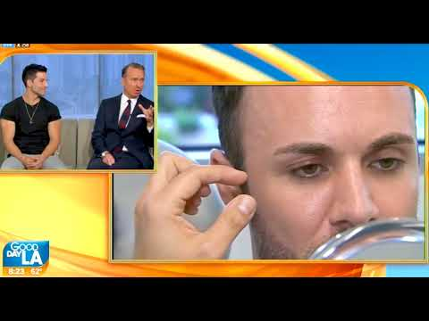 Male Model Makeover Discussed on Good Day LA with Dr. Douglas Steinbrech