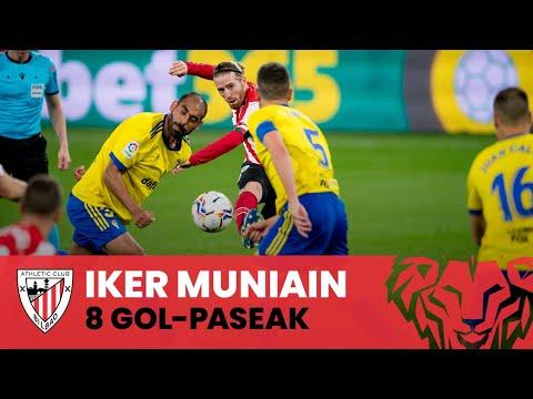 👟 Iker Muniain I 8 gol-pase hilabete batean
