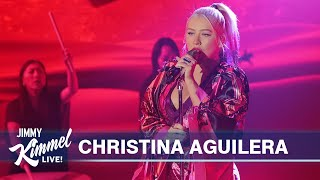 Christina Aguilera - Loyal Brave True (Live)