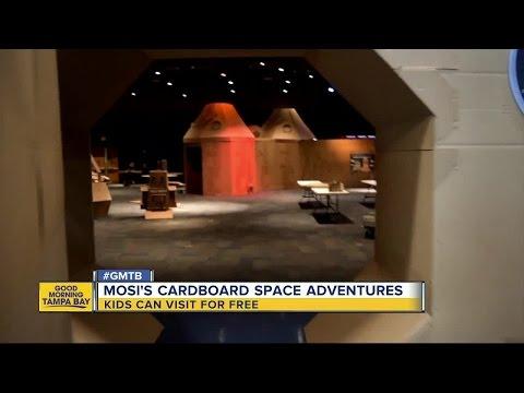 Cardboard Space Adventure debuts at MOSI