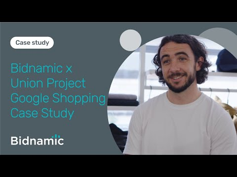 Bidnamic and The Union Project optimise Google Shopping | Case Study