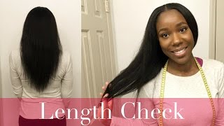 Length Check (12.31.16) | Natural Hair | TheLifestyleLuxe