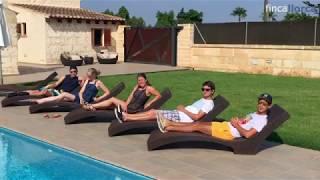 Video Robin und Freunde auf der Finca Binifalet