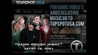 "Artist Vs. Poet - ""Damn Rough Night"" [New Song]"