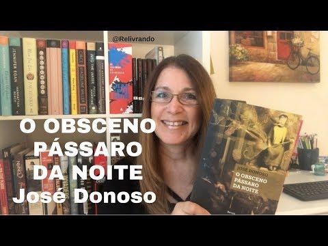 O Obsceno Pássaro da Noite - José Donoso - #desafiolivrada2018