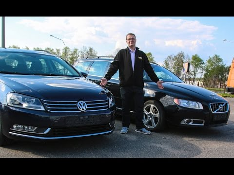 Volkswagen Passat B7 & Volvo V70 : обзор подержаных авто