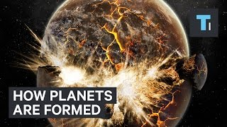Scientists have found how planet formation occurs
