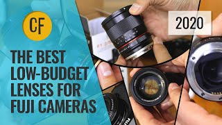 23 of the best LOW-BUDGET lenses for Fuji X cameras