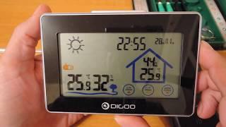 Digoo DG-TH8380 weather station - Part 2