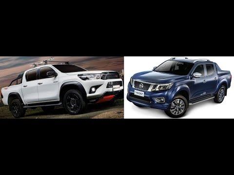 Head to Head: Nissan Navara Sport Edition VS Toyota Hilux