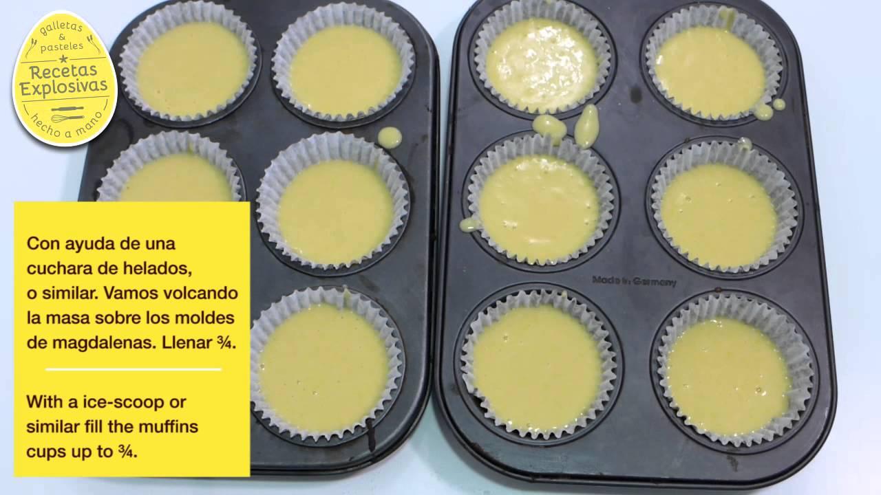 Cómo hacer Cupcakes de Elote ( Maíz tierno ) y Frosting de mascarpone - Recetas Explosivas