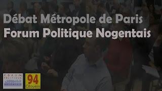 preview picture of video 'Métropole de Paris: débat avec C. Favier, J. JPMartin et J-Y Le Bouillonnec'