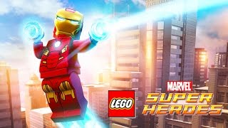 IRON MAN LEGO Marvel Super Heroes | LEGO Videos for Kids Games